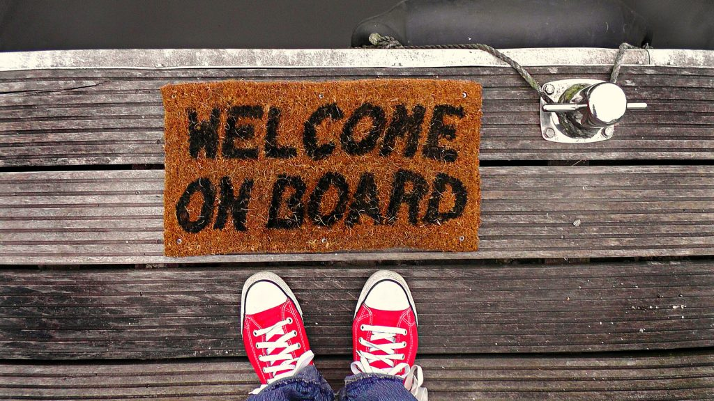 Benvenuto a bordo